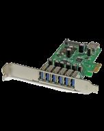 7-Port PCI Express USB 3.0 Card - PEXUSB3S7